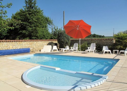 Großes, freistehendes, Charakter-Haus, privaten beheizten pool, Gratis Wi-Fi