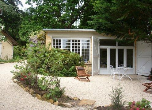 L ' Atelier Luxus-Finca mit Garten auf dem Gelände des Manoir Sarlat
