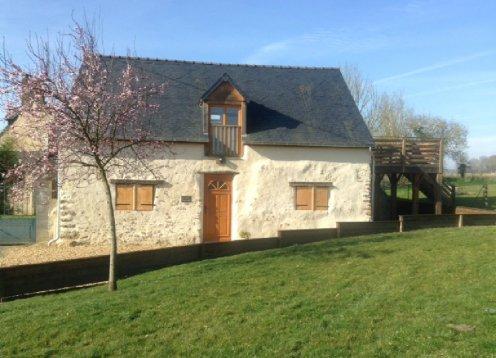 La petite maison rouge - encantadora casa rural en el corazón del Pays-de-la-Loire