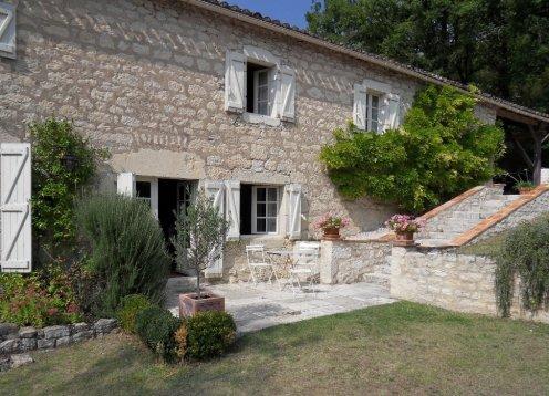 Espaciosa y cómoda casa de campo con maravillosas vistas