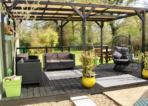 Rose casa de campo con Piscina Privada en un Entorno Tranquilo