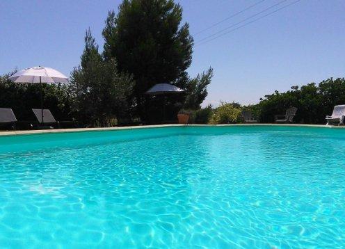 Gîte 1: 5 km de carcassonne avec piscine chauffée
