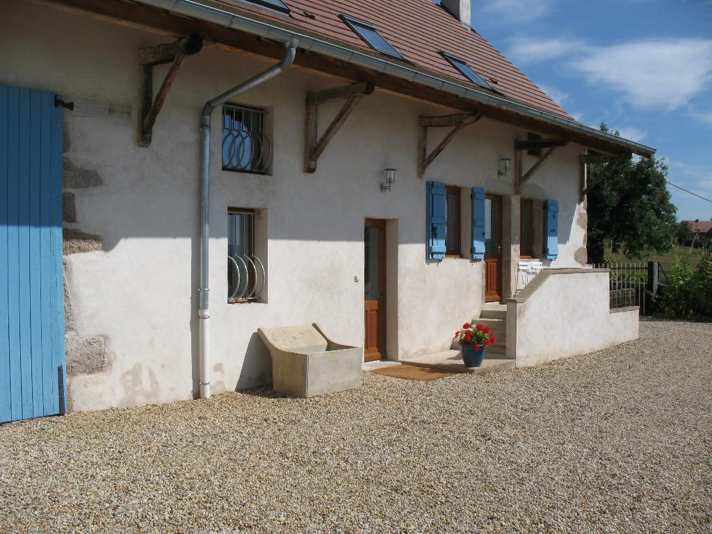 Burgundy Gite Rental: Les Volets Bleus, Stunning Farmhouse Gîte In Rural  Burgundy