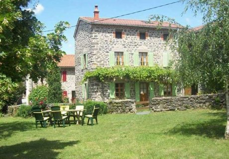 Gite with private courtyard and vast ground with swings Auvergne