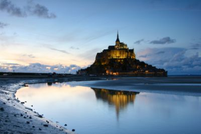Mont Saint Michel, Lower Normandy
